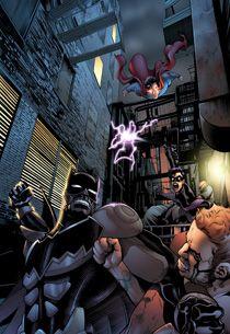 Smallville Season 11 Comic Book Welcomes Batman — and Nightwing!