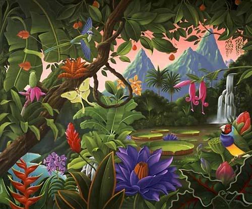Tropical Fantasy, Robert Giusti