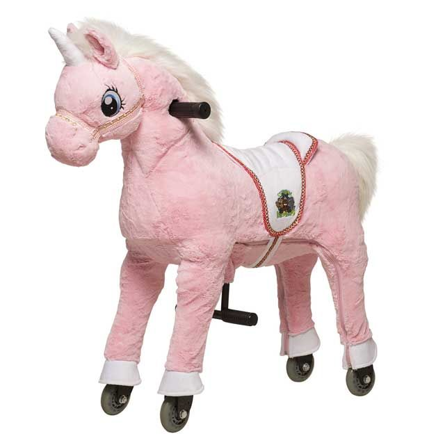Style Report: Unicorn Toy Horse from Animal Riding