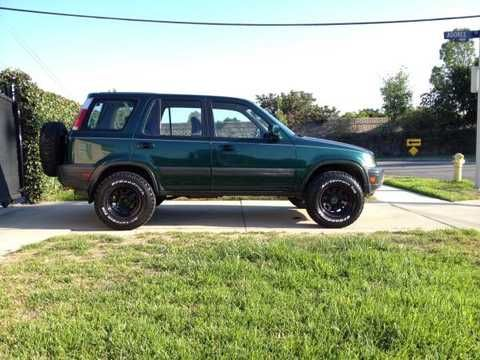 1999 honda crv 5 speed awd lifted 480 360 jeeps pinterest. Black Bedroom Furniture Sets. Home Design Ideas