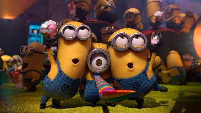 Feson la fête avec les minoi!!!!!!