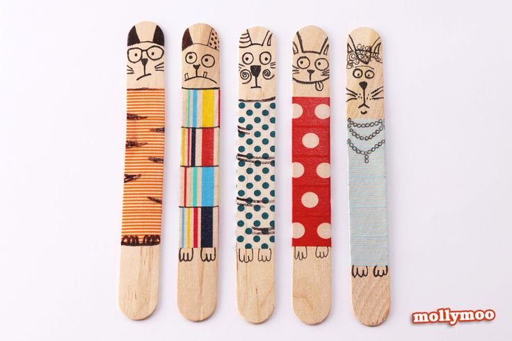 MollyMoo – crafts for kids and their parents Quick Craft - Craft Stick Dolls