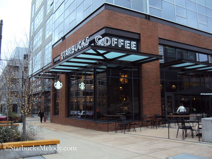 17 best images about starbucks on pinterest store fronts for Retail store exterior design