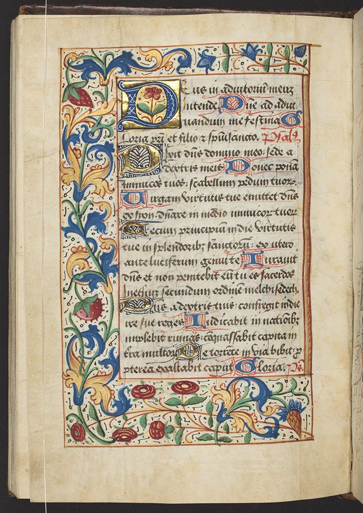 Pretty medieval manuscript of the dayis a Carmelite book of hours from the collection of the National Library of New Zealand. It's no...