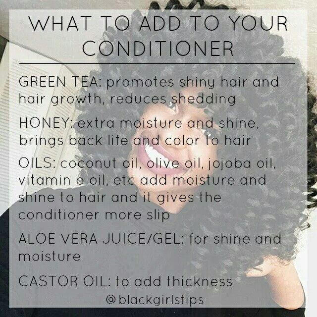 What I add to conditioner