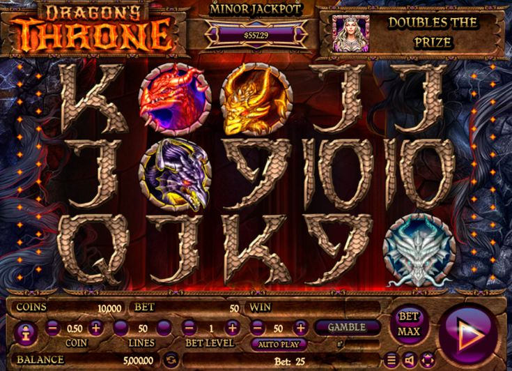 Dragons Throne - http://www.777free-slots.com/free-slot-online-dragons-throne/
