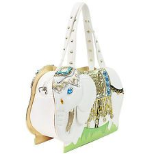 Fashion Cute Gifts Elephant Shape PU Women's Shoulder Messenger Bag Handbag New