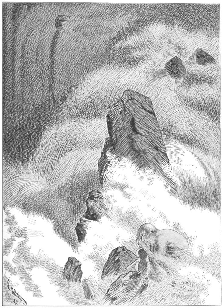 Kittelsen - Fossegrim - A Water Demon