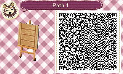 "mayorshosuke: "" ACNL PATH Wooden path for Animal Crossing New Leaf. Enjoy. """