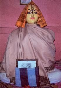 """Haridasa Thakur  (born 1451 or 1450[1]) was a prominent Vaishnava saint, instrumental in the early appearance and spread of the Hare Krishna movement. He is considered to be the most famous convert of Chaitanya Mahaprabhu..."""