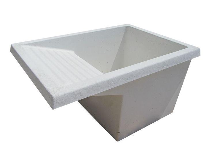 Lavadero de cemento blanco o gris la casa ideal for Lavadero tramontina
