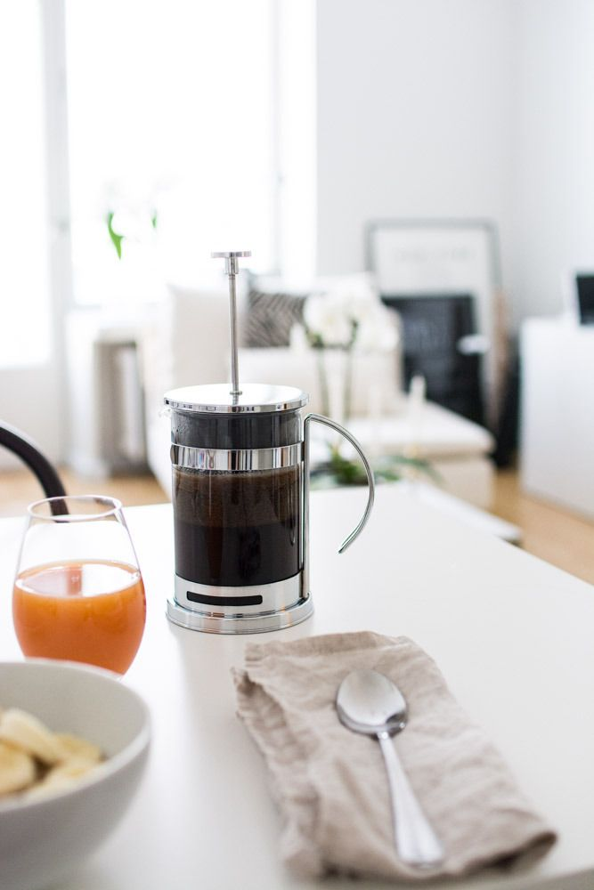French press to the rescue