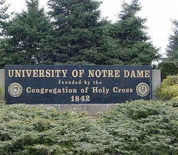 Be Accepted To The University Of Notre Dame.