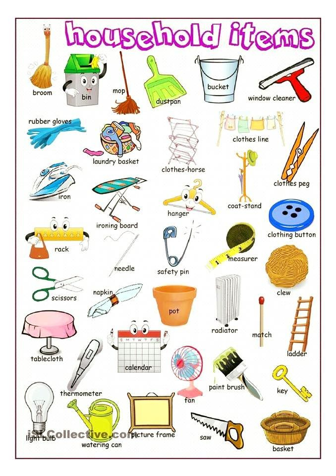 Forum   ________ Learn English   Fluent LandVocabulary: Household Items   Fluent Land