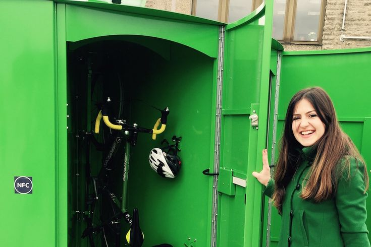 Besonders für Pendler ist eine Schließbox für Fahrräder am Bahnhof eine Erleichterung. Das Startup Velo Easy will die Boxen in ganz Deutschland aufstellen.
