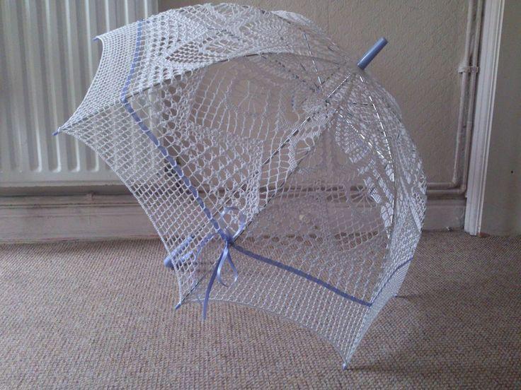 Crochet Umbrella : Crochet Umbrella 2 by Xelka.deviantart.com on @deviantART