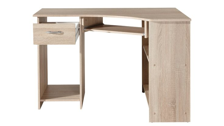 PC-hoekbureau in de online winkel | OTTO 90.-  -- yes it's a cheap and ugly bureau but something similar (cheaper) could be pimped into something better. I need a corner desk I think