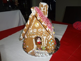 Tutorial how to make a gingerbread house. Βήμα βήμα πως να φτιάξετε ένα μπισκοτόσπιτο