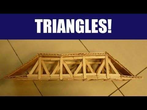 Popsicle Sticks Building A Strong Truss Bridge With