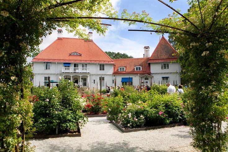 Trädgårdens hus på Wij Trädgårdar av fotograf Pernilla Hed