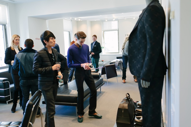 Terry Lu and Julien Sauvalle examine the new collection.