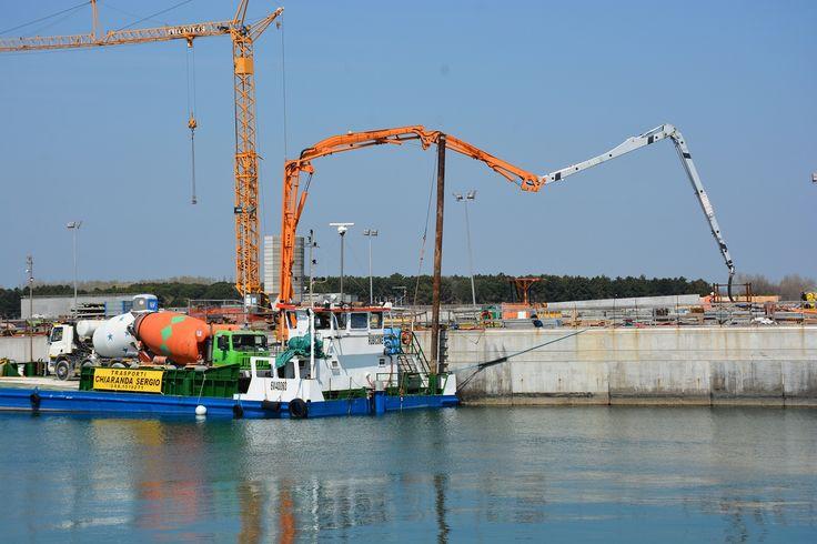 Il #Mose, piano di interventi per la salvaguardia della #laguna veneta, termina alla grande con il #calcestruzzo gettato da #Cifa
