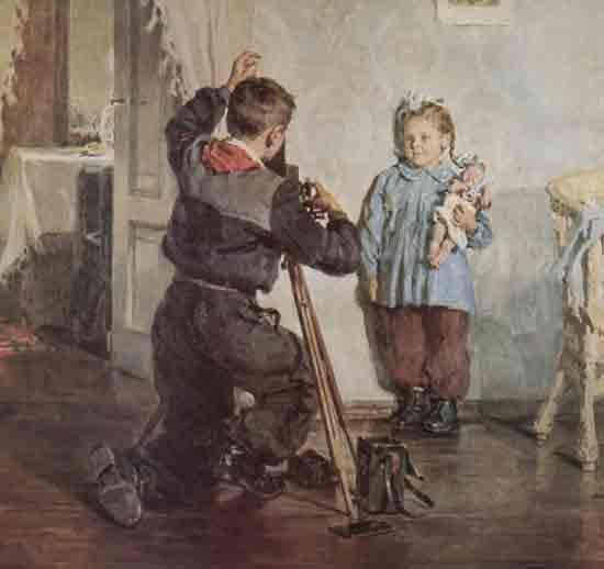 """Божий М. """"Таня, не моргай"""", 1954"""