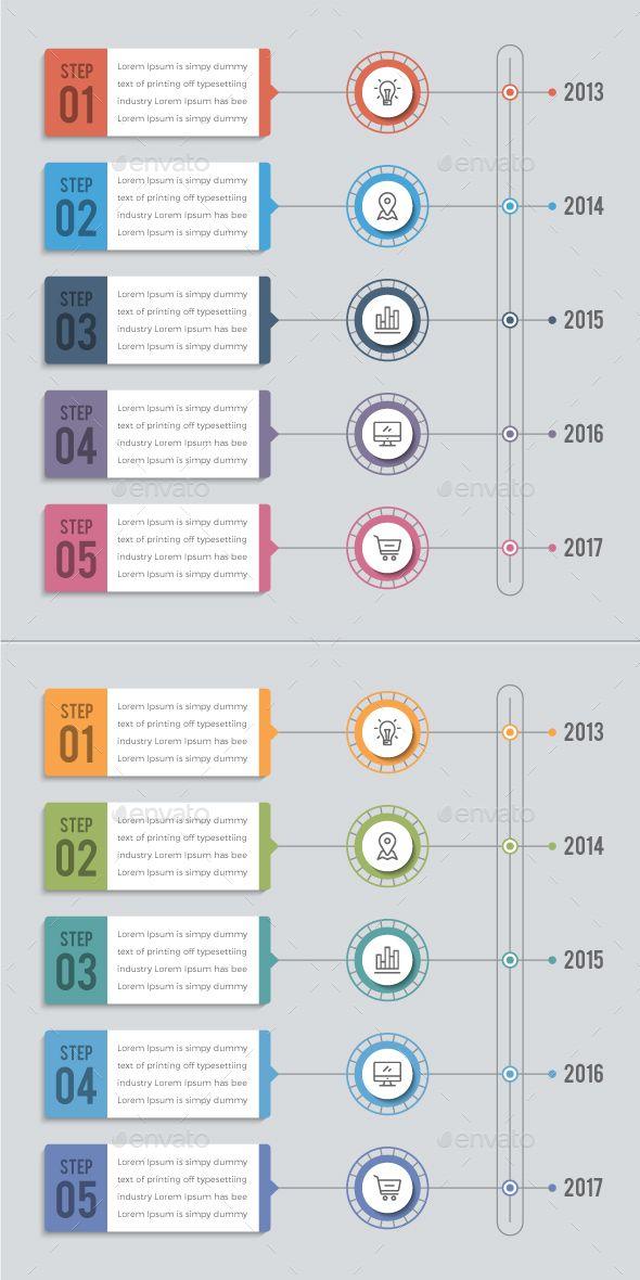 Vertical Timeline Infographics Timeline Infographic Timeline
