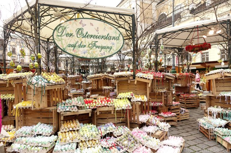 Stall with Europe's biggest selection on easter eggs http://bit.ly/1D6H3QY