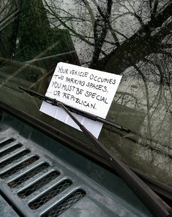 20 of the Greatest Parking Notes Ever