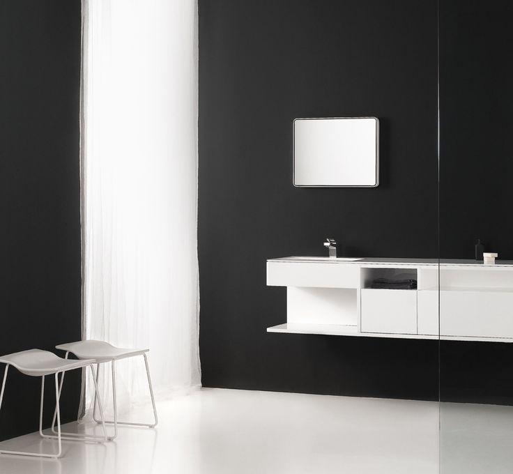 Ela Minimalist Bathroom Furniture by Francesc Rife for Inbani