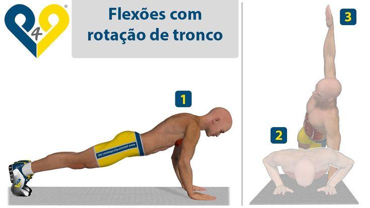Flexões em T