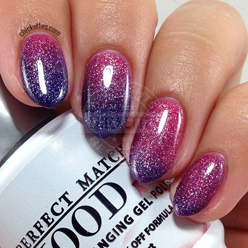 Lechat Pefect Match Mood Polish Wicked Love Swatch By Ettes Soak Off Gel Swatches In 2018 Nails Nail Art Designs