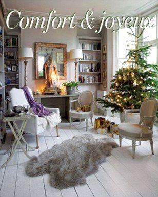 Festive French style lounge