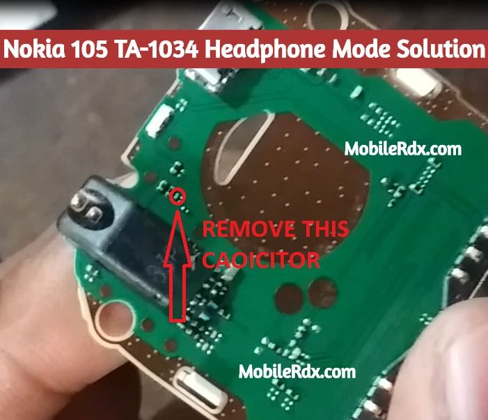 Nokia 105 Ta 1034 Headphone Mode Solution Handsfree Symbol Problem Nokia 105 Ta 1034 Handsfree Jumper Headphone Problem Repair Solu Nokia Handsfree Headphone