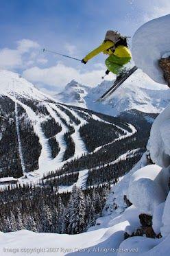 Sunshine Village Ski & Snowboard Resort #skiing #ski