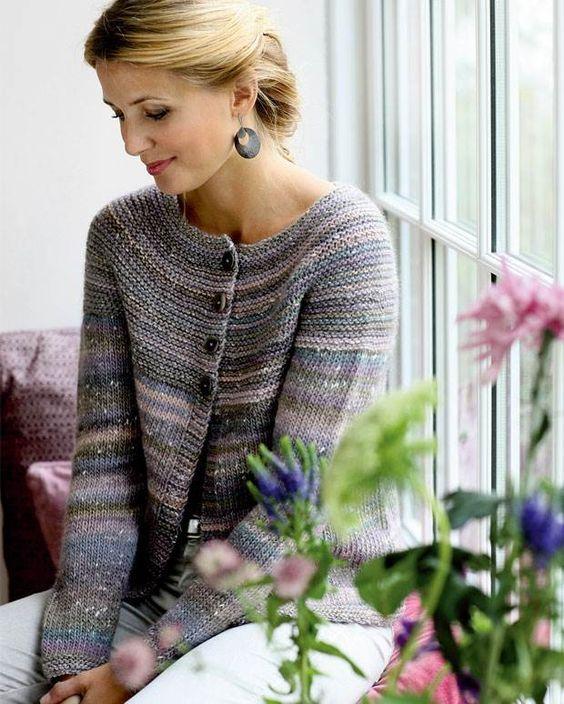 Strik selv: Trøje med riller på bærestykket - Hendes Verden - ALT.dk
