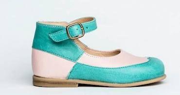 Nathalie Verlinden, zapatos para niños con tintes vegetales http://www.minimoda.es