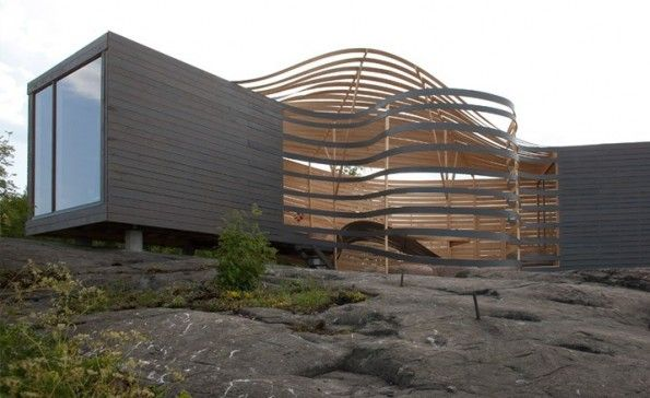 The WISA - an architectural gem of wood situated in Helsinki