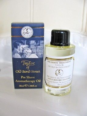 Taylor Of Old Bond Street Aromatherapy Pre Shave Oil 30ml