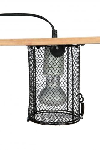 Inspirational Protective Basket Cage for Reptile Terrarium Bulb Lamps with Screw by TRIXIE