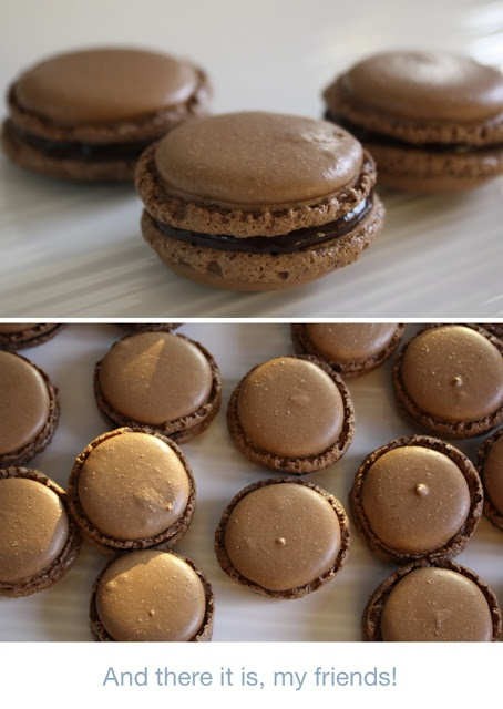 Step-by-Step French Macarons recipe I still have a bag of almond flour waiting for me to find the currage to make macarons after my earlier failure..