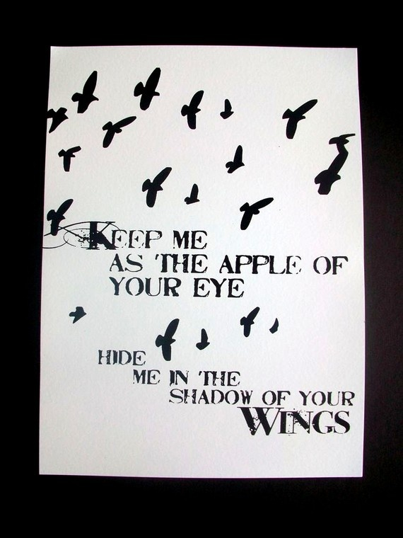 Print Keep me as the apple of your eye Hide me by IScreenYouScreen, $27.00