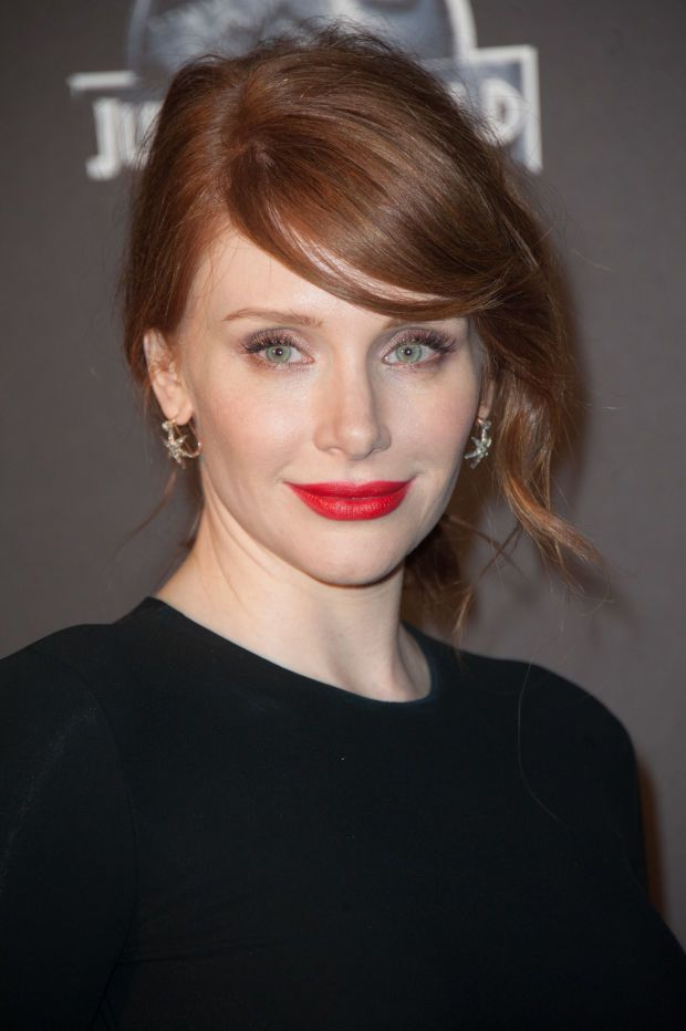 Bryce Dallas Howard at the 2015 Paris premiere of 'Jurassic World'. http://beautyeditor.ca/2015/06/15/best-celebrity-beauty-looks-bryce-dallas-howard