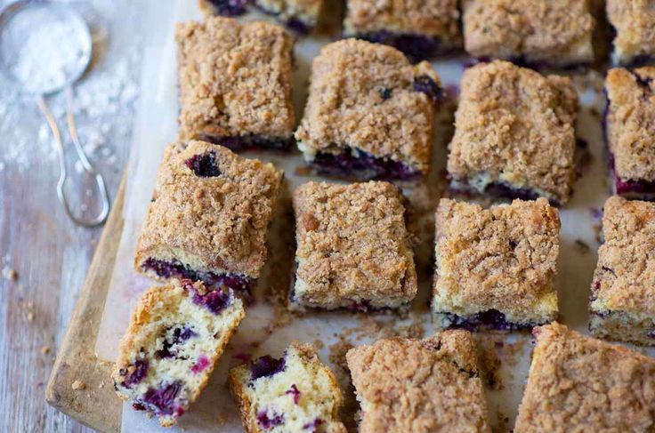 Blueberry buckle coffeecake recipe in 2020 blueberry