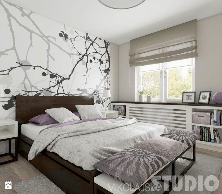 Aranżacje wnętrz - Sypialnia: Sypialnia w stylu skandynawskim - MIKOŁAJSKAstudio. Przeglądaj, dodawaj i zapisuj najlepsze zdjęcia, pomysły i inspiracje designerskie. W bazie mamy już prawie milion fotografii!
