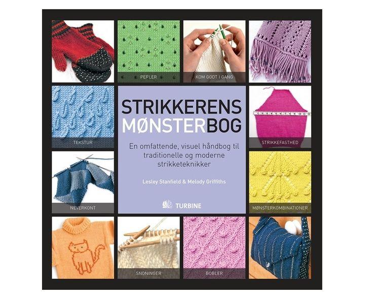 Strikkerens mønsterbog af Lesley Stanfield & Melody Griffiths - Strikkepinden.com