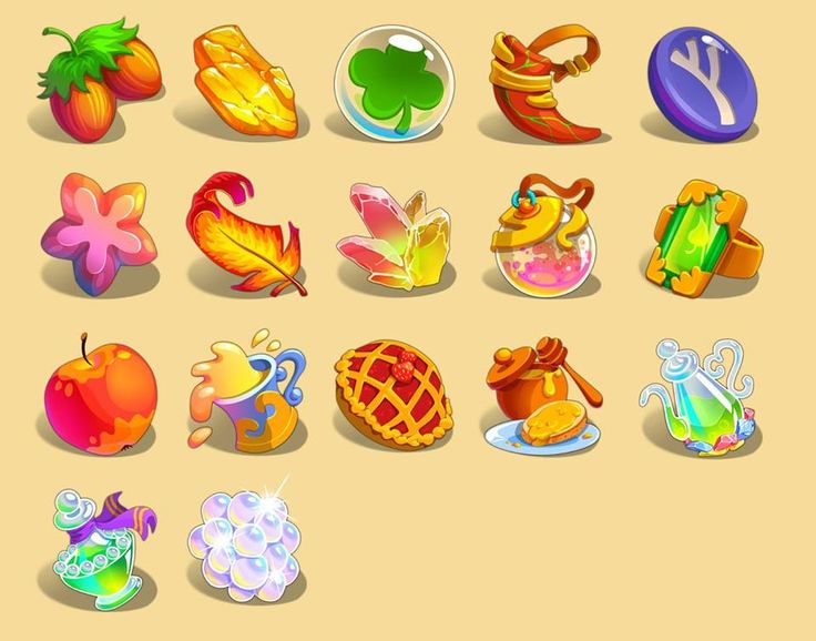 Clover Tale Icons