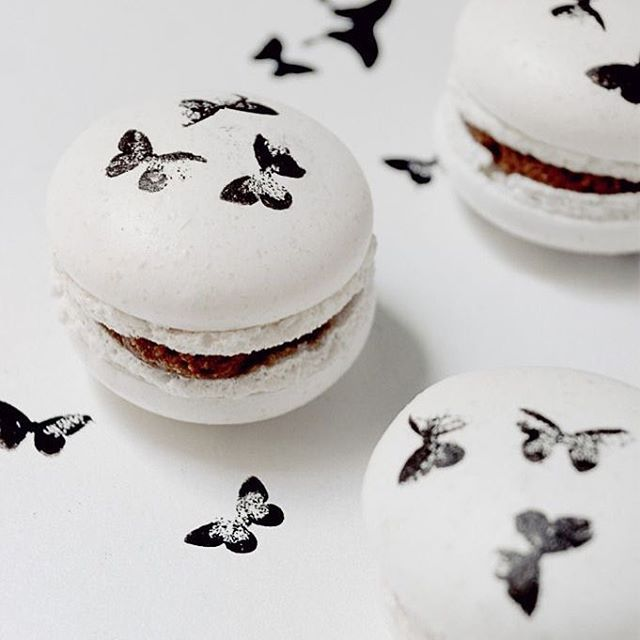 Here's some butterfly macarons to keep you going through the week.
