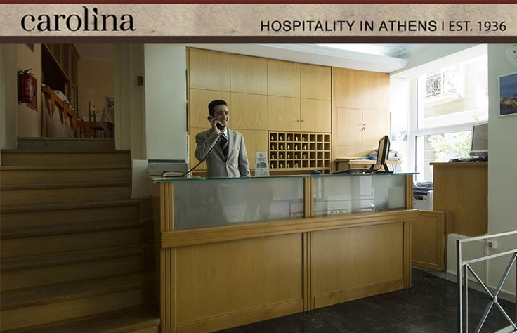 Hotel Carolina budget hotel in Athens combines pure Greek hospitality with professionalism and responsibility towards the customer needs, by its welcoming personnel. The hotel's efficient and qualified personnel emulates towards guests genuine hospitality with its attentive service provided, that makes for a distinguished cheap accommodation in Athens, Greece.